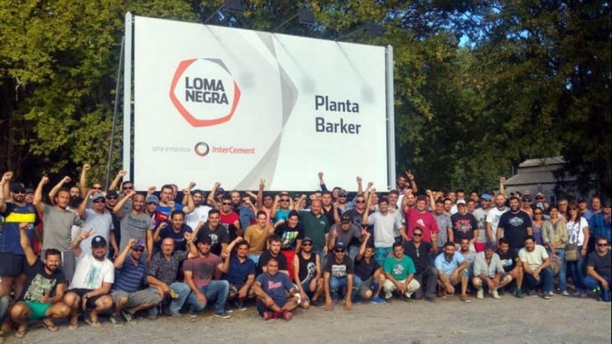 La cementera Loma Negra cerró su planta en Barker: hay 140 despedidos