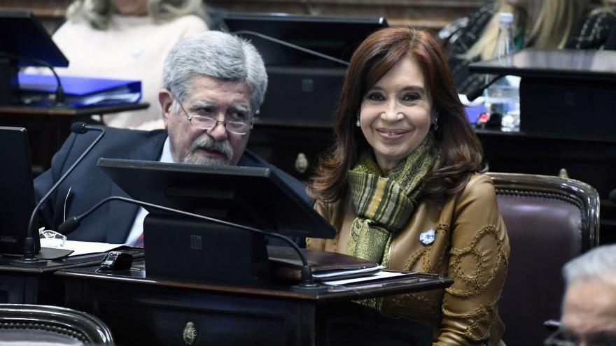 La Asamblea Legislativa sesiona para proclamar la fórmula de los Fernández